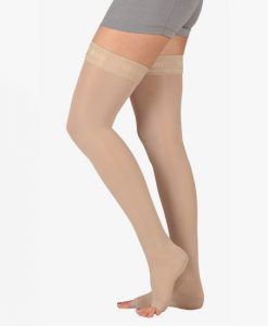 juzo-basic-thigh-high-open-toe-compression-stockings