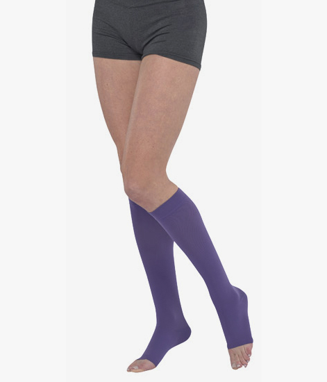 9cc1e81ea4 Juzo Dream Dynamic 3512 Knee High Compression Stockings 30-40 mmHg –  Silicone Band