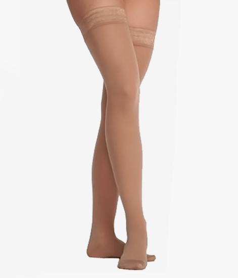 Juzo Hostess 2501 Thigh High Compression Stockings 20-30 ...