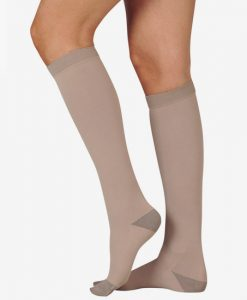 juzo-silver-soft-knee-high-closed-toe-compression-stockings