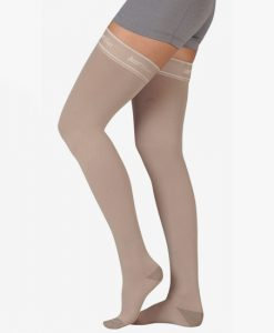 juzo-silver-thigh-high-closed-toe-compression-stockings