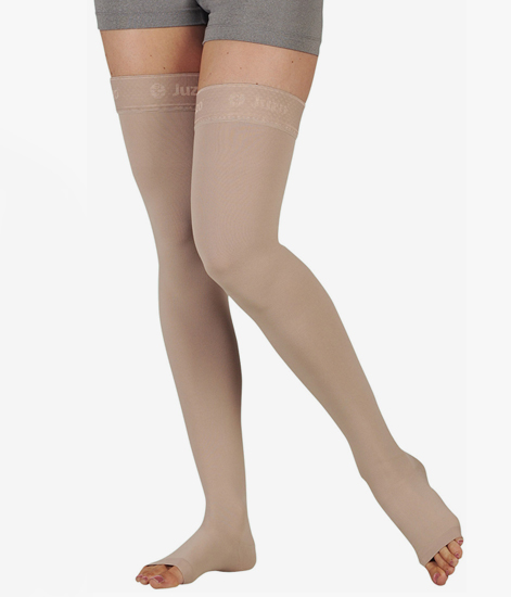 c00187f0bda Juzo Soft 2002 Thigh High Compression Stockings 30-40 mmHg – Hip Attachment